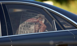 ??? arriving at Bilderberg 2013
