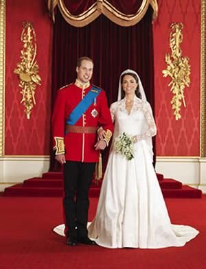 prince william wedding invitation list. Royal Wedding Invite List: